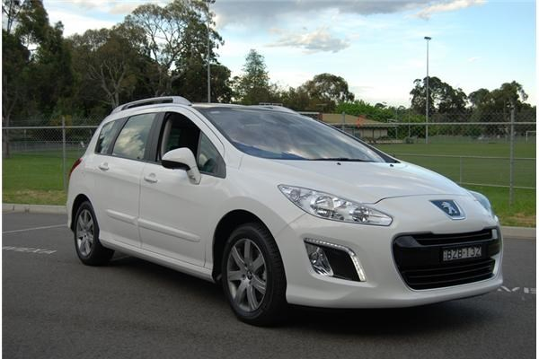2012 PEUGEOT 308 4D WAGON ACTIVE TOURING TURBO