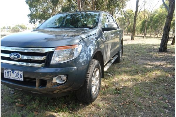 2012 FORD RANGER DUAL CAB UTILITY XLT 3.2 4X4
