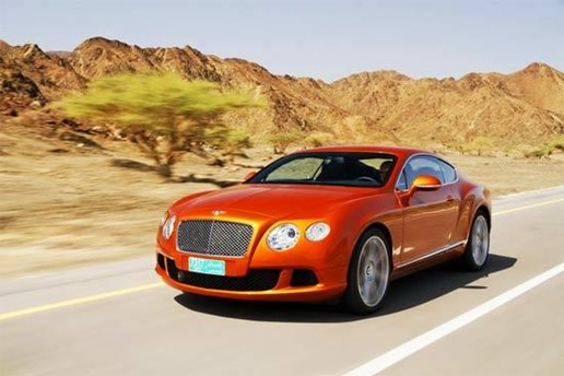 2011 BENTLEY CONTINENTAL 2D COUPE GT