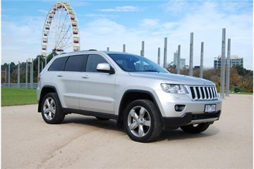2011 JEEP GRAND CHEROKEE 4D WAGON LIMITED 4X4