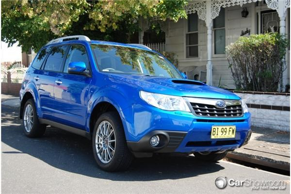 Review 2011 Subaru Forester Models Compared