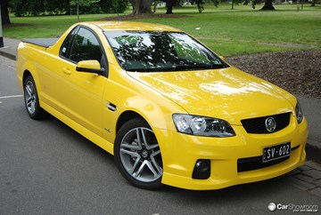 2010 HOLDEN COMMODORE UTILITY SV6