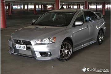 2011 MITSUBISHI LANCER 4D SEDAN EVOLUTION MR