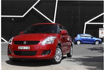 2010 SUZUKI SWIFT 5D HATCHBACK