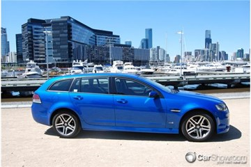 2010 HOLDEN COMMODORE 4D SPORTWAGON SV6