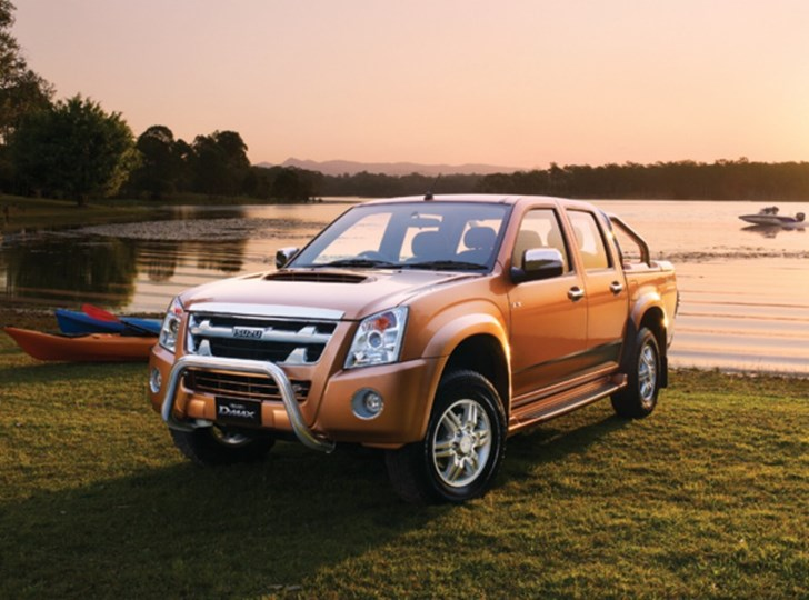 2010 ISUZU D-MAX LIMITED EDITION II 4X4