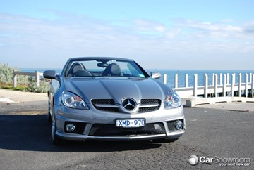 2010 MERCEDES-BENZ SLK 2D CONVERTIBLE 300