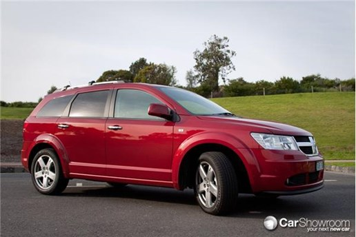 2010 DODGE JOURNEY 4D WAGON R/T