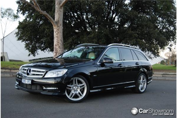 Review 2010 Mercedes Benz C220cdi Estate Car Showroom