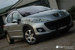 2010 PEUGEOT 207 4D WAGON TOURING OUTDOOR HDI
