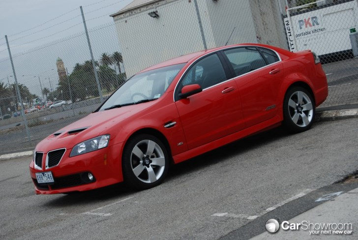 2010 HOLDEN COMMODORE 4D SEDAN SS-V SE