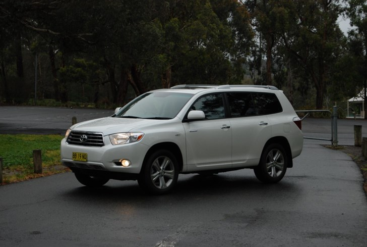 2009 TOYOTA KLUGER 4D WAGON GRANDE 4X4