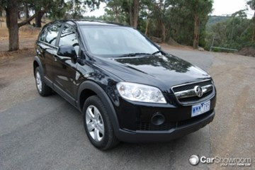 2009 HOLDEN CAPTIVA SX 4X4