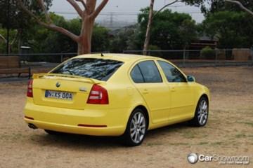 2009 SKODA OCTAVIA RS 2.0 TDI