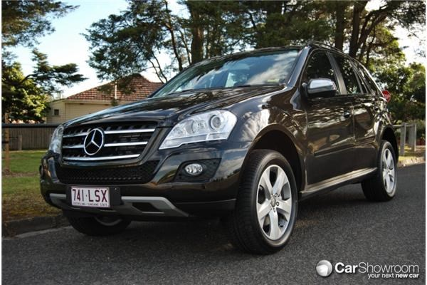 Review 2009 Mercedes Benz M Class Ml320 Car Review