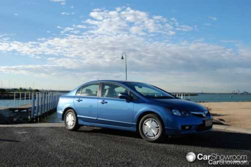review 2009 honda civic hybrid car review. Black Bedroom Furniture Sets. Home Design Ideas