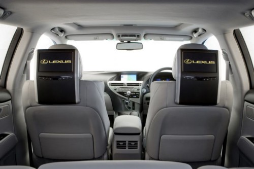 Lexus Rx 450H >> News - Widescreen Rear Seat Entertainment for Lexus RX
