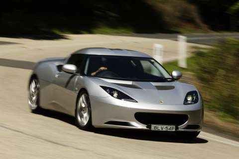 2010 LOTUS EVORA LAUNCH EDITION