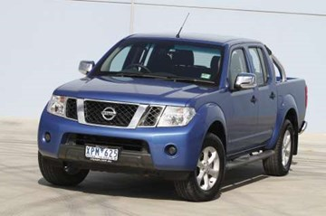 2010 NISSAN NAVARA DUAL CAB P/UP ST-X 4X4