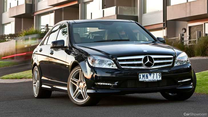 news 2010 mercedes benz c class model launch. Black Bedroom Furniture Sets. Home Design Ideas