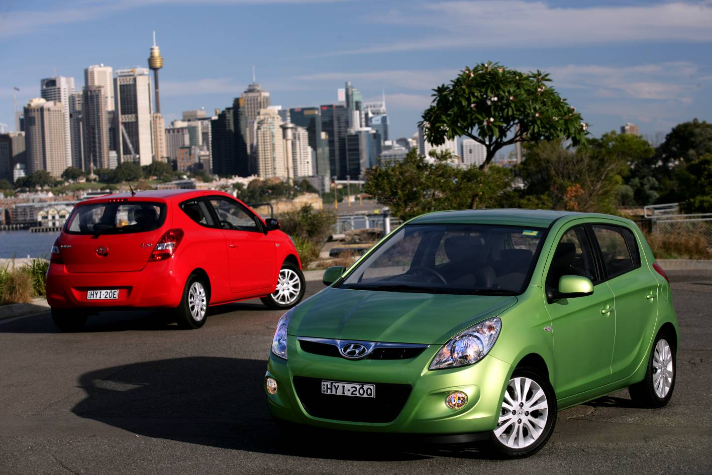 News Hyundai I20 Drives Sydney Bundaberg On One Tank