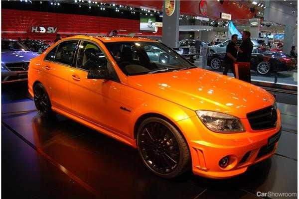 News orange is in for benz c 63 amg concept 358 for Mercedes benz orange