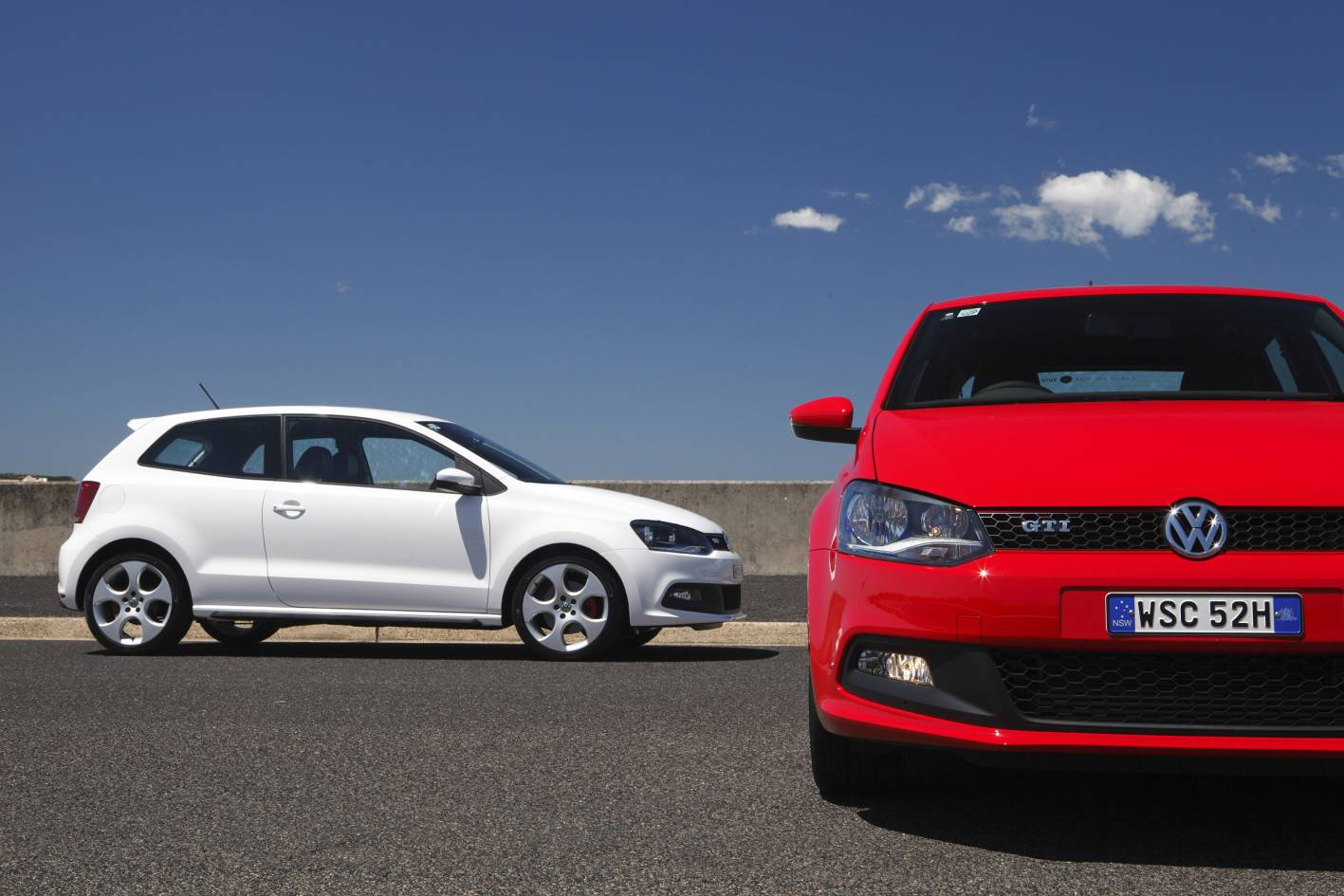 news volkswagen launches polo gti. Black Bedroom Furniture Sets. Home Design Ideas