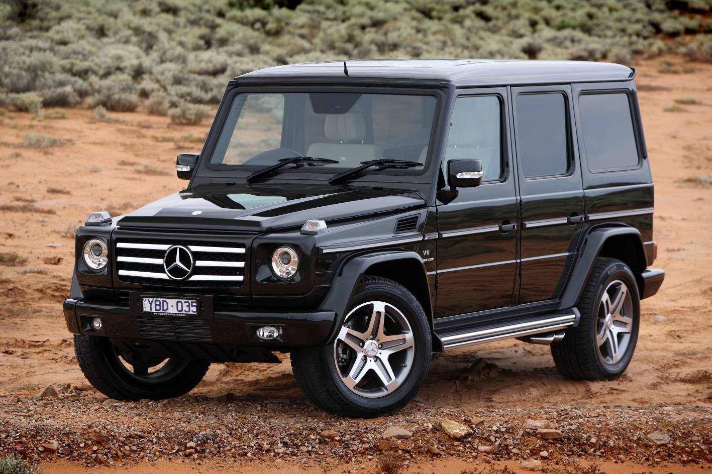 news mercedes benz g class wagon first drive. Black Bedroom Furniture Sets. Home Design Ideas