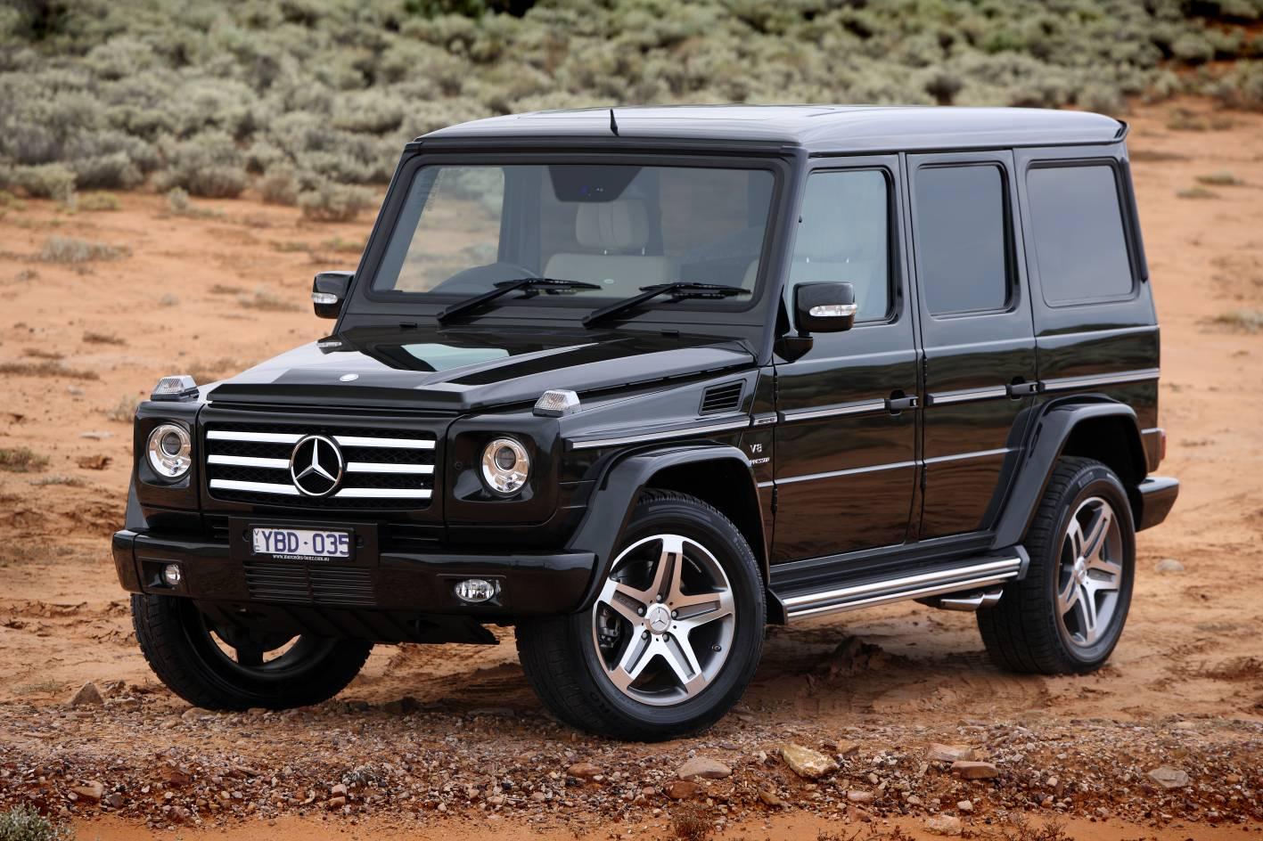 News mercedes benz g class wagon first drive for Mercedes benz g class wagon