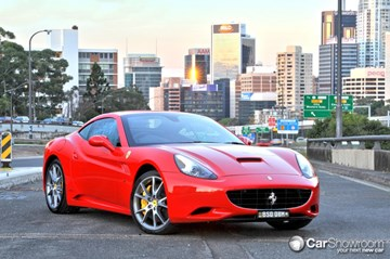 2011 FERRARI CALIFORNIA