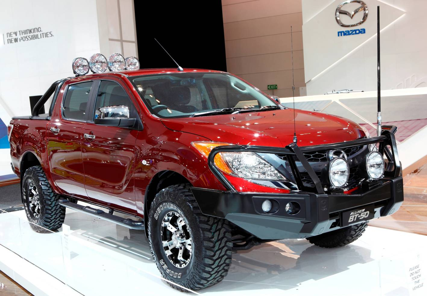 News Local Bull Bars For All New Mazda Bt50