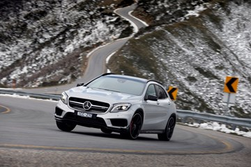 2014 MERCEDES-BENZ GLA 4D WAGON 45 AMG 4MATIC