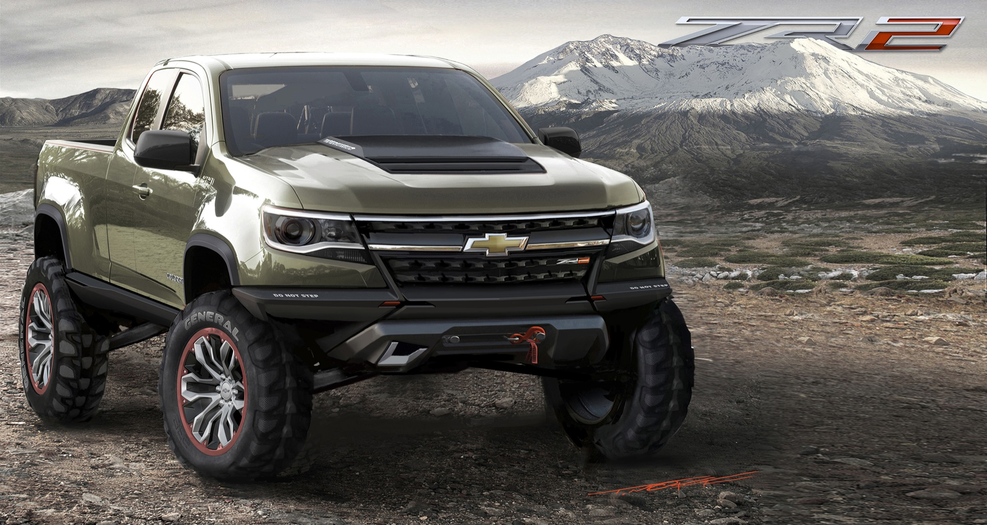 news holden colorado zr2 looks the part. Black Bedroom Furniture Sets. Home Design Ideas