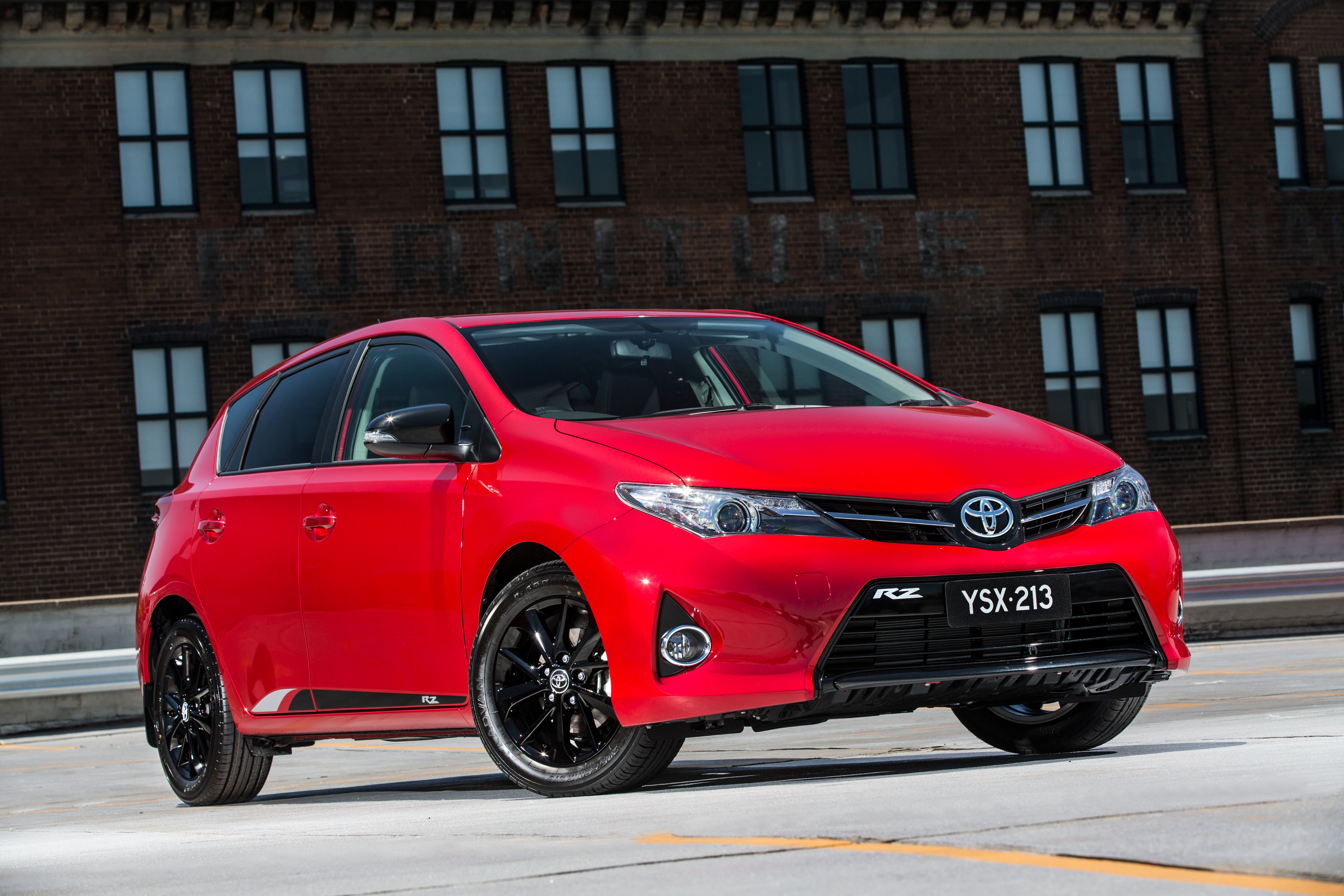News Toyota Toughens Up Corolla With Rz Special Edition