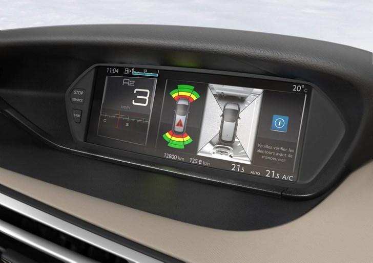 News 2015 Citroen C4 Picasso Gets 360 Degree Camera