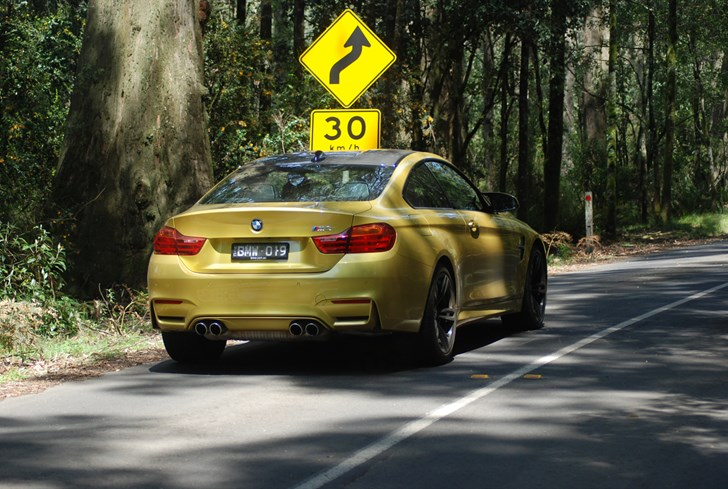 2014 BMW M4 2D COUPE