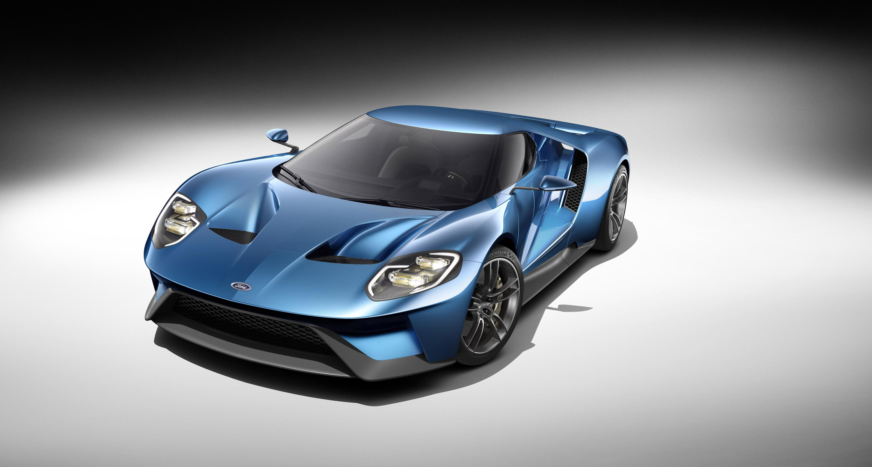 Ford Gt Twin Turbo V