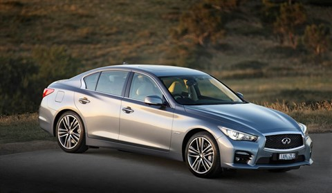 2015 INFINITI Q50 4D SEDAN 3.5 HYBRID S PREMIUM (AWD)