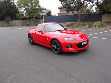 2015 MAZDA MX-5 2D CONVERTIBLE COUPE