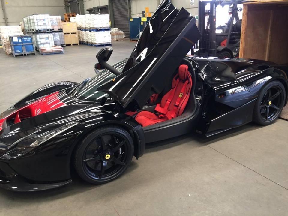 News Ferrari Laferrari Spotted In Melbourne