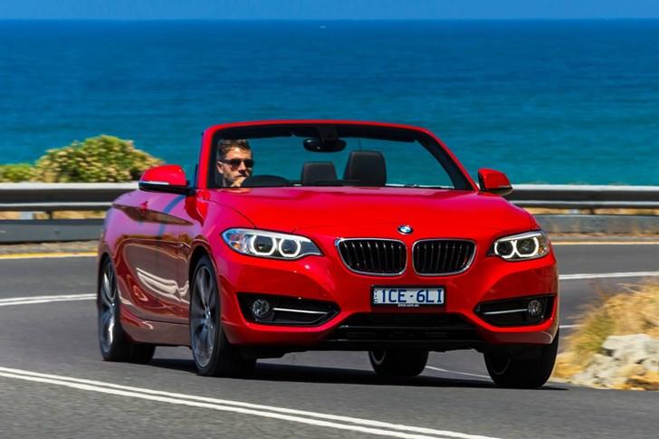 2015 BMW 2 2D CONVERTIBLE