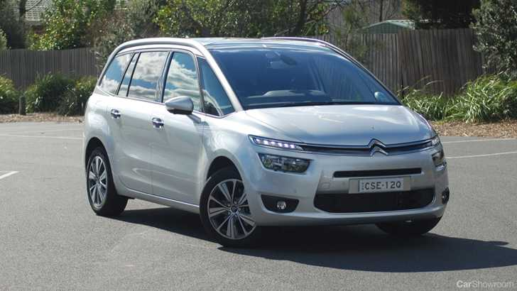 review citroen c4 grand picasso review and road test. Black Bedroom Furniture Sets. Home Design Ideas