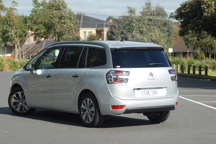 2015 CITROEN GRAND C4 4D WAGON PICASSO EXCLUSIVE