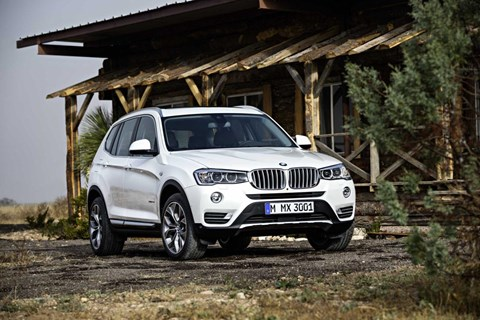 2015 BMW X3 4D WAGON xDRIVE 20i
