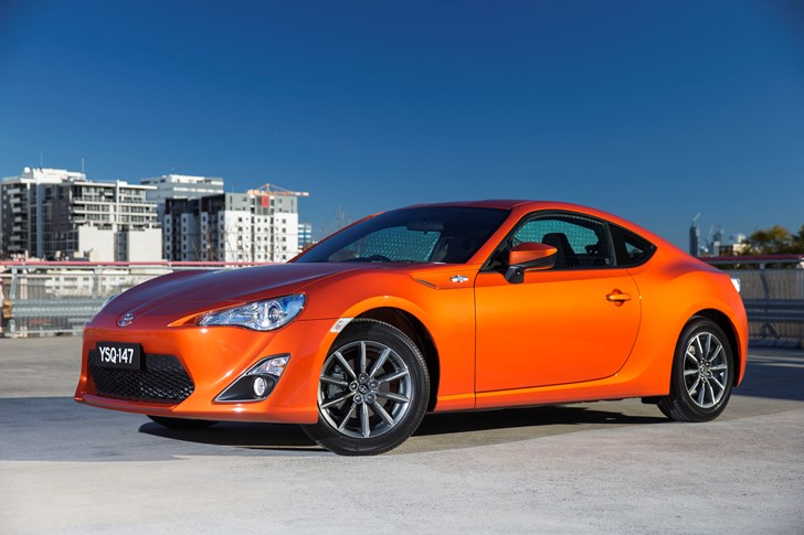 Toyota 86 gt remain unchanged but extra equipment comes in the form
