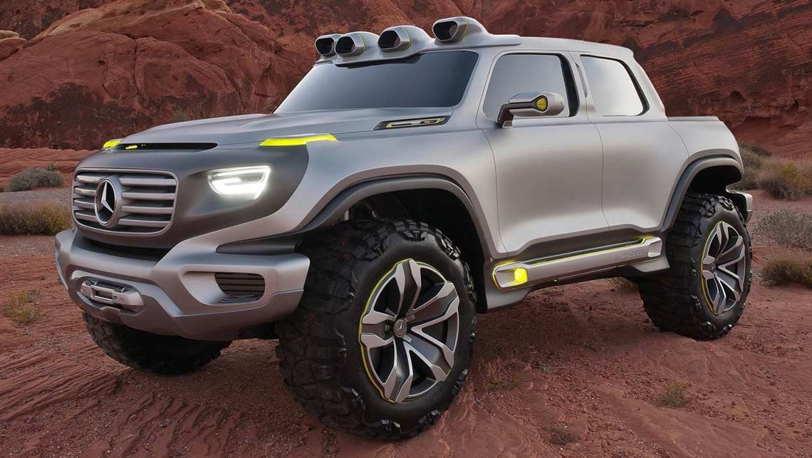 News - 2018 Mercedes Benz Ute