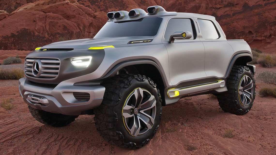 News 2018 mercedes benz ute for Mercedes benz future car