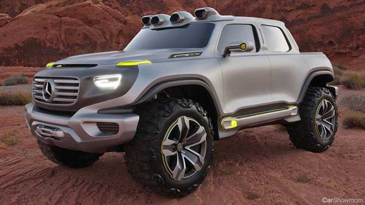 News mercedes benz first ute will be based on the all for Mercedes benz com mx mexico