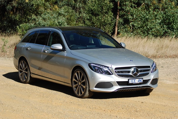 2015 MERCEDES-BENZ C250 4D WAGON
