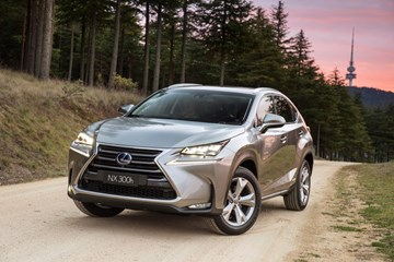 2015 LEXUS NX300H 4D WAGON SPORTS LUXURY HYBRID (AWD)